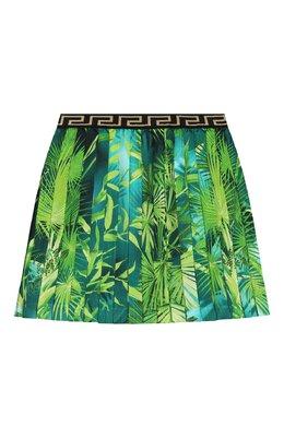Шелковая юбка Versace YC000394/A235478/4A-6A
