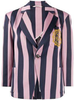 Vivienne Westwood Anglomania блейзер в полоску 1401003211308