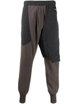 Julius спортивные брюки с низким шаговым швом 687PAM2