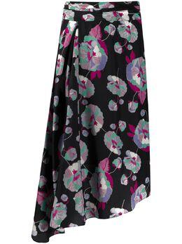 Isabel Marant юбка Javenia с цветочным принтом JU116220E016I