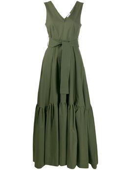 P.a.r.o.s.h. платье макси с завязками D723270CANYON