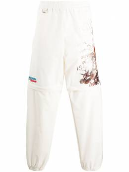 Doublet спортивные брюки с графичным принтом 20SS10PT122