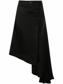 Ann Demeulemeester юбка асимметричного кроя со шнуровкой 20011650P138