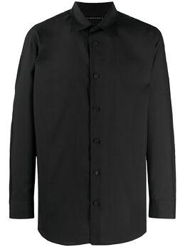 Issey Miyake рубашка с длинными рукавами ME06FJ028