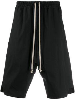 Rick Owens шорты с кулиской RU20S7383TE