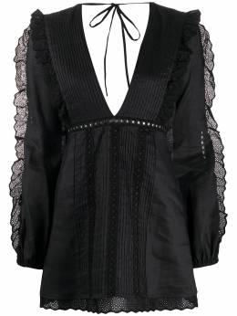 Wandering платье мини с оборками WGS20419