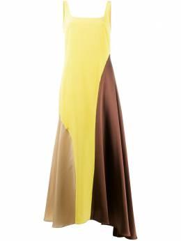 Chinti And Parker платье в стиле колор-блок DS04
