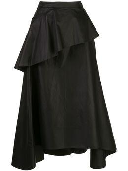 3.1 Phillip Lim юбка миди с оборками S2023463CTZ