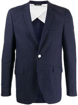 Tonello пиджак с контрастными пуговицами 08G72003103U