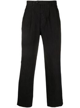 Junya Watanabe брюки прямого кроя со складками P007051