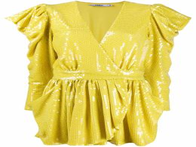 Amen платье мини с пайетками AMS20425