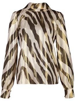 Haney блузка Billie с зебровым принтом BILLIE