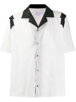 Rhude рубашка с короткими рукавами и контрастной отделкой RHU06PS20025