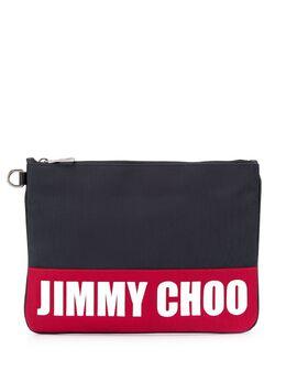 Jimmy Choo клатч Derek с логотипом DEREKSJCO