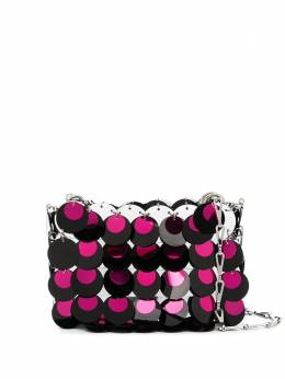 Paco Rabanne сумка на плечо с вышивкой 20ESS0137PLX022