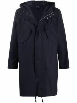 A.P.C. пальто с потайной застежкой COEBQH30134