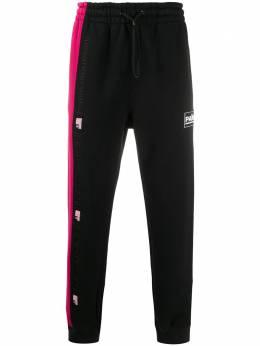 Alexander Wang спортивные брюки в стиле колор-блок 6CC1204013F935