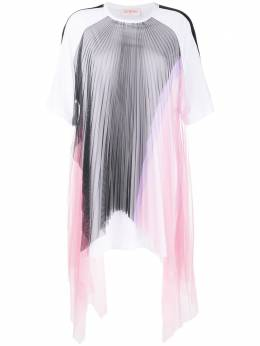 Iceberg платье с прозрачными вставками H1214157