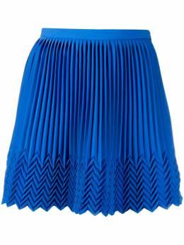 Marco De Vincenzo юбка мини со складками MQ5232MDVCA01
