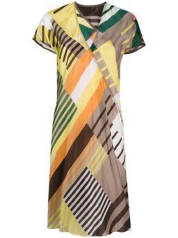 Rick Owens короткое платье с принтом RP20S1540JP1