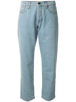 Marni укороченные джинсы прямого кроя PAJDK01Q11TCY13