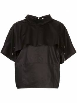 3.1 Phillip Lim layered short-sleeved top S2012631CTZ