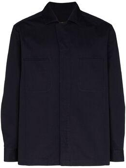 Ermenegildo Zegna рубашка с карманами UUX24SOT3