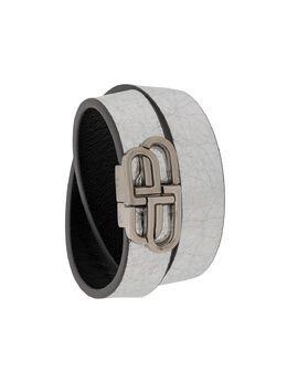 Balenciaga BB double wrap bracelet 5990130XSK3