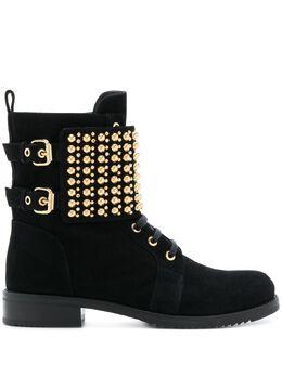 Loriblu ботинки высотой до щиколотки с заклепками 8IK2T2486PO