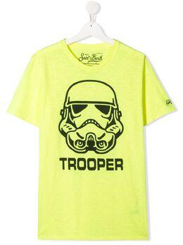 Mc2 Saint Barth Kids футболка Trooper с графичным принтом SWTF94
