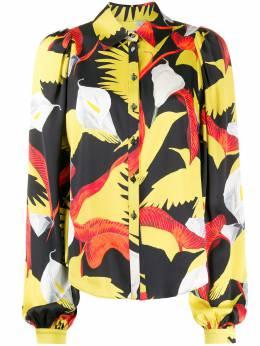 Temperley London рубашка с цветочным принтом 20STHE53467