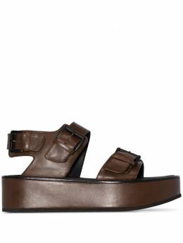 Ann Demeulemeester сандалии на платформе с ремешками 20132810358