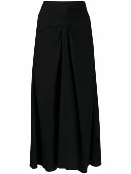 Rochas юбка миди с завышенной талией ROPQ351927RQ390102