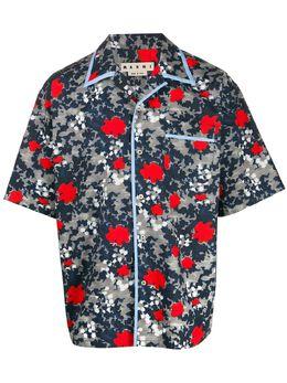 Marni рубашка с камуфляжным принтом CUMU0139A0S52609