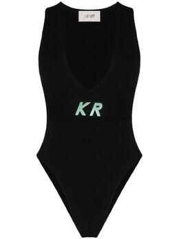 Kirin трикотажное боди с логотипом KWHA002S20KNI0011000