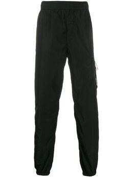 C.P. Company спортивные брюки с завышенной талией 08CMPA230A005148G