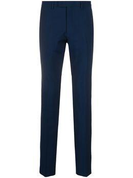 Sandro брюки строгого кроя со складками SHPPA00362