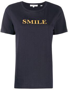 Chinti And Parker футболка с принтом Smile TS30