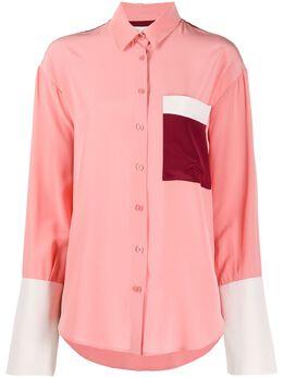 Chinti And Parker рубашка в стиле колор-блок TR10