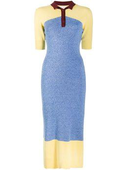 Chinti And Parker платье в стиле колор-блок KR42