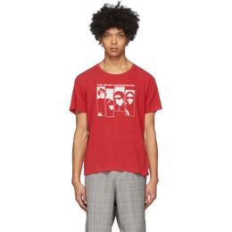 R13 Red The Velvet Underground Edition Boy T-Shirt R13W3567-05S