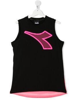 Diadora Junior TEEN logo print sleeveless top 022780