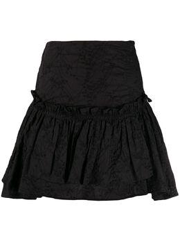 Wandering юбка мини с оборками WGS20305