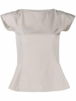 Rick Owens Sade cut-out blouse RP20S1212GG