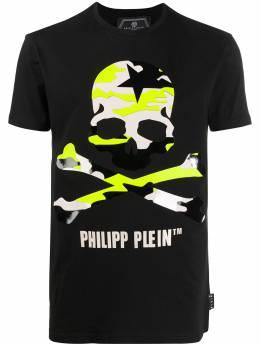Philipp Plein футболка с принтом S20CMTK4347PJY002N