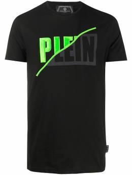 Philipp Plein футболка с логотипом S20CMTK4327PJY002N
