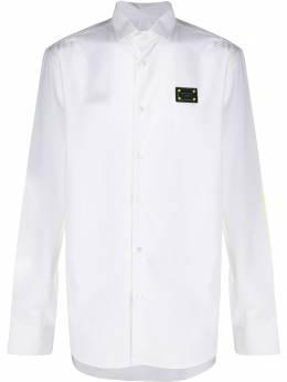 Philipp Plein рубашка с длинными рукавами и логотипом S20CMRP1209PTE003N