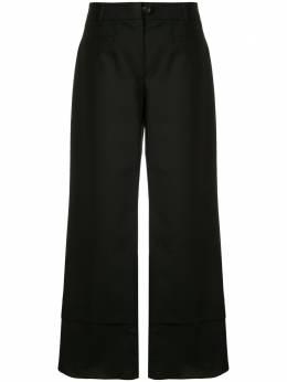 Goen.J декорированные укороченные брюки GJ20RSPT04