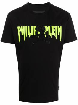 Philipp Plein футболка с логотипом P20CMTK4450PJY002N