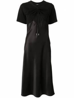 Goen.J расклешенное платье с вырезами GJ20RSDS11